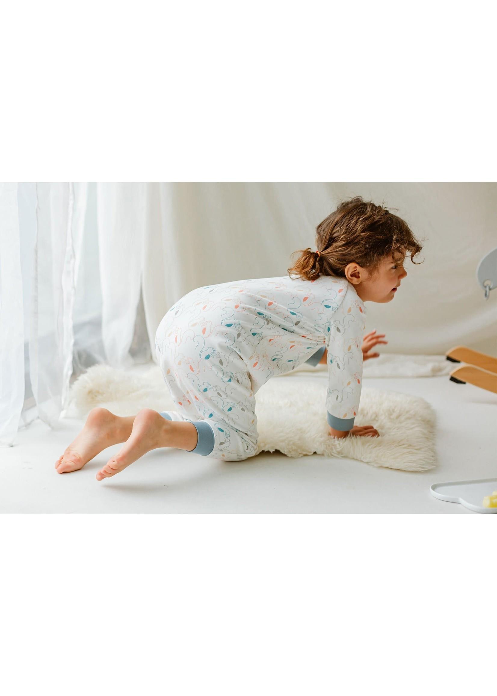 Nest Designs ND 0.6 Longsleeve Sleepsuit (Squirrely)