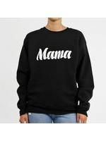 Brunette The Label Brunette Label Mama Crew (Cursive Black)