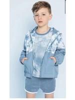 Miles Baby Miles Baby Rain Jacket (Blue Tie Dye)
