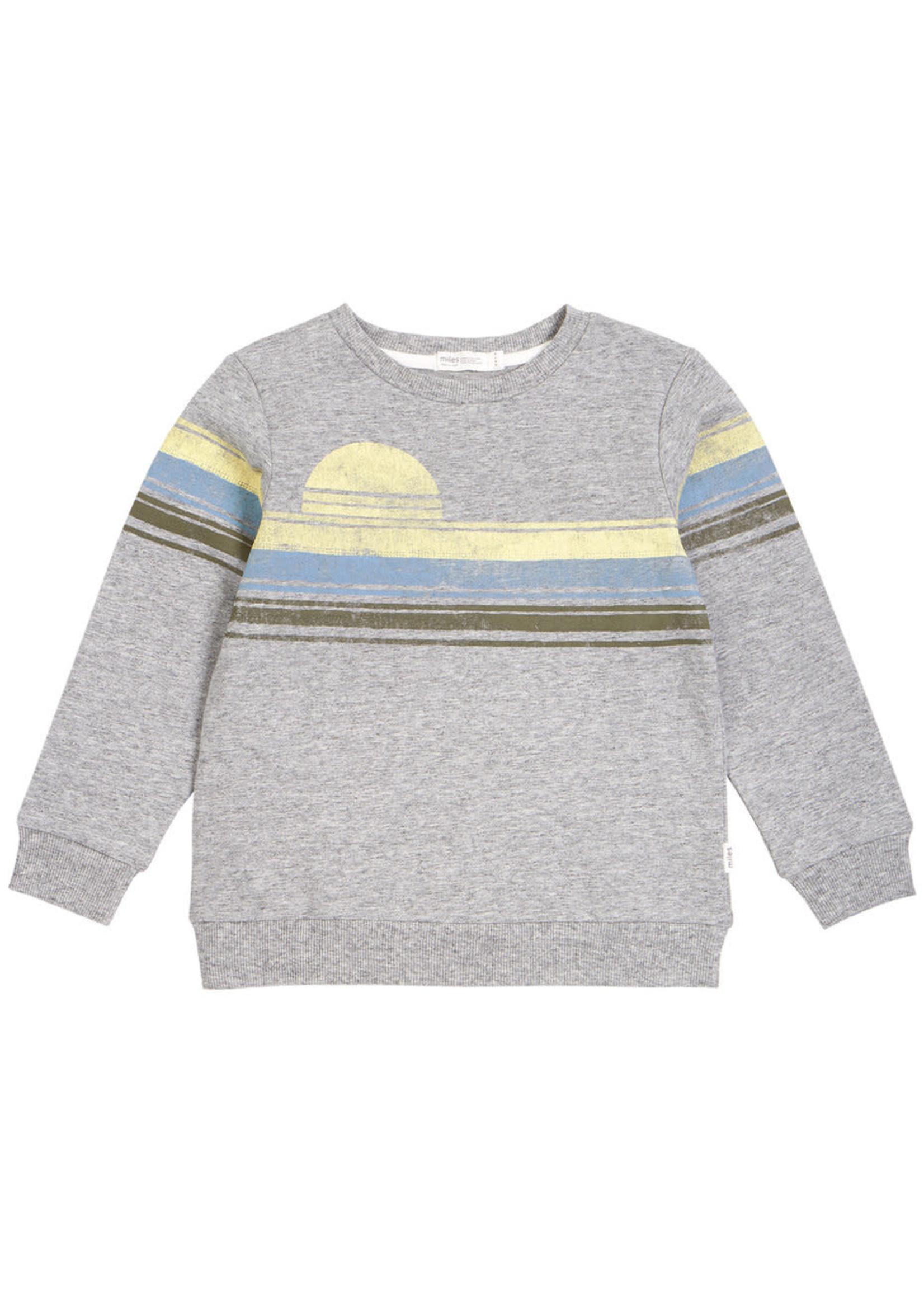 Miles Baby Miles Baby Grey Sweater