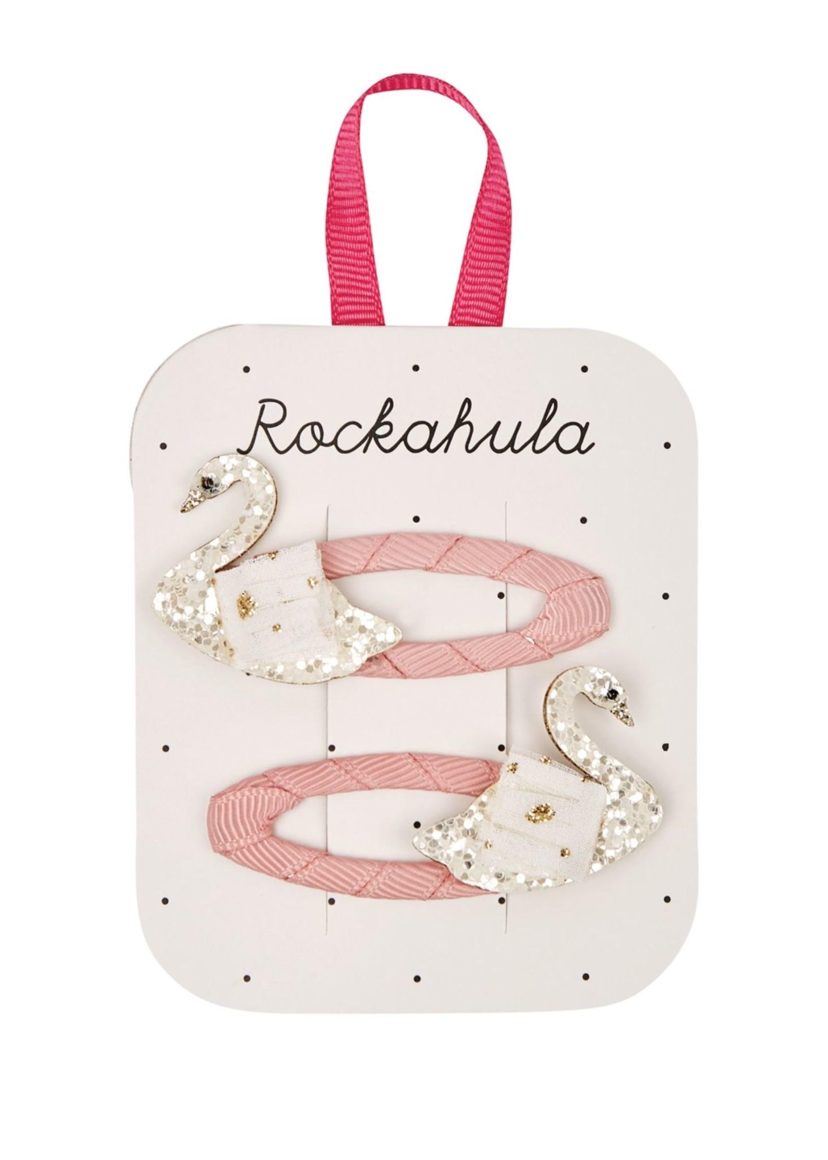 ROCKAHULA Swan Glitter Clips