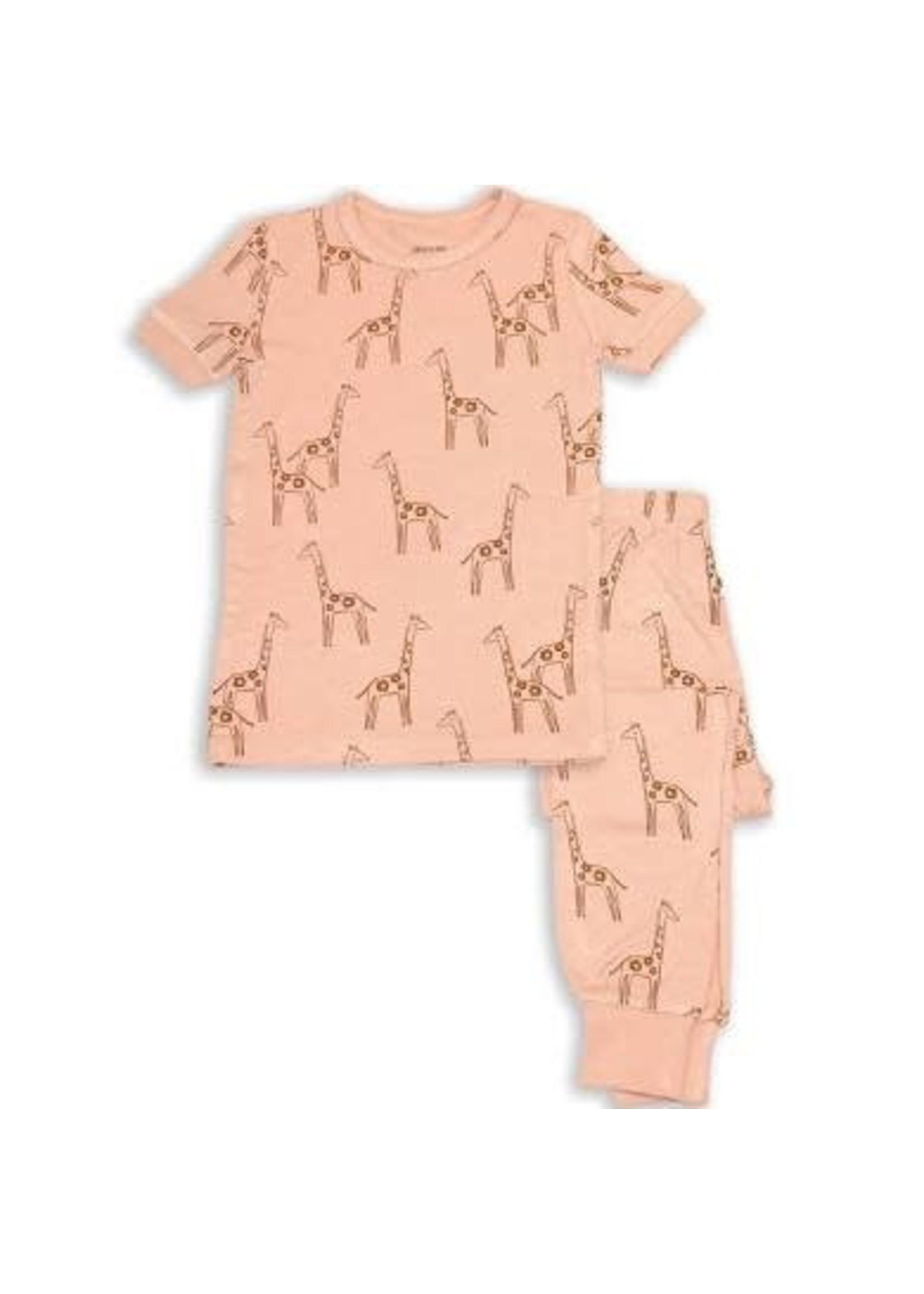 silkberry SB Pajama Set Daisy Giraffe