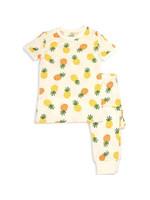silkberry Silkberry 2pc Shortsleeve Pajama Set (Pineapple Love)