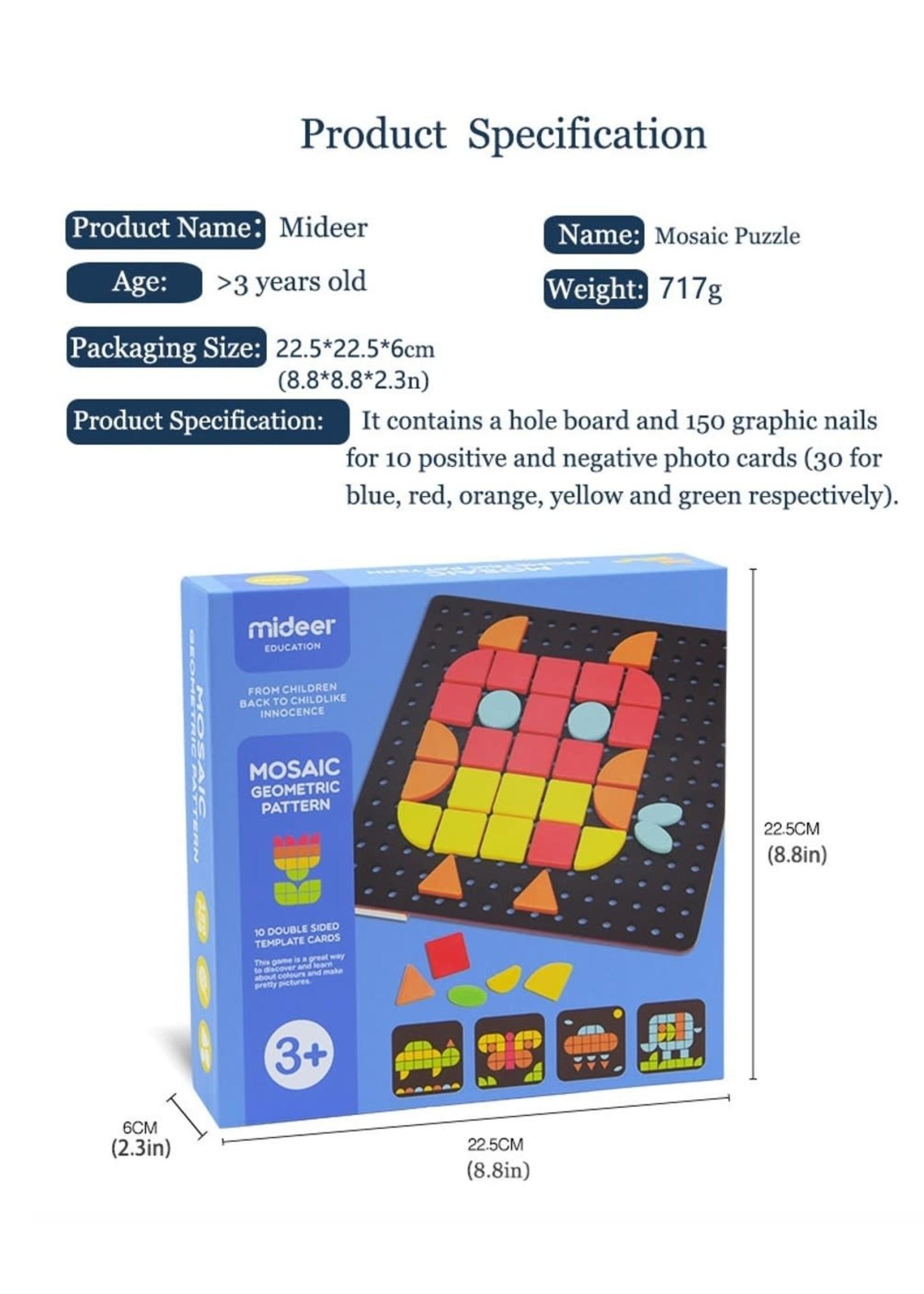 Mideer Mideer Mosaic Geometric Pattern