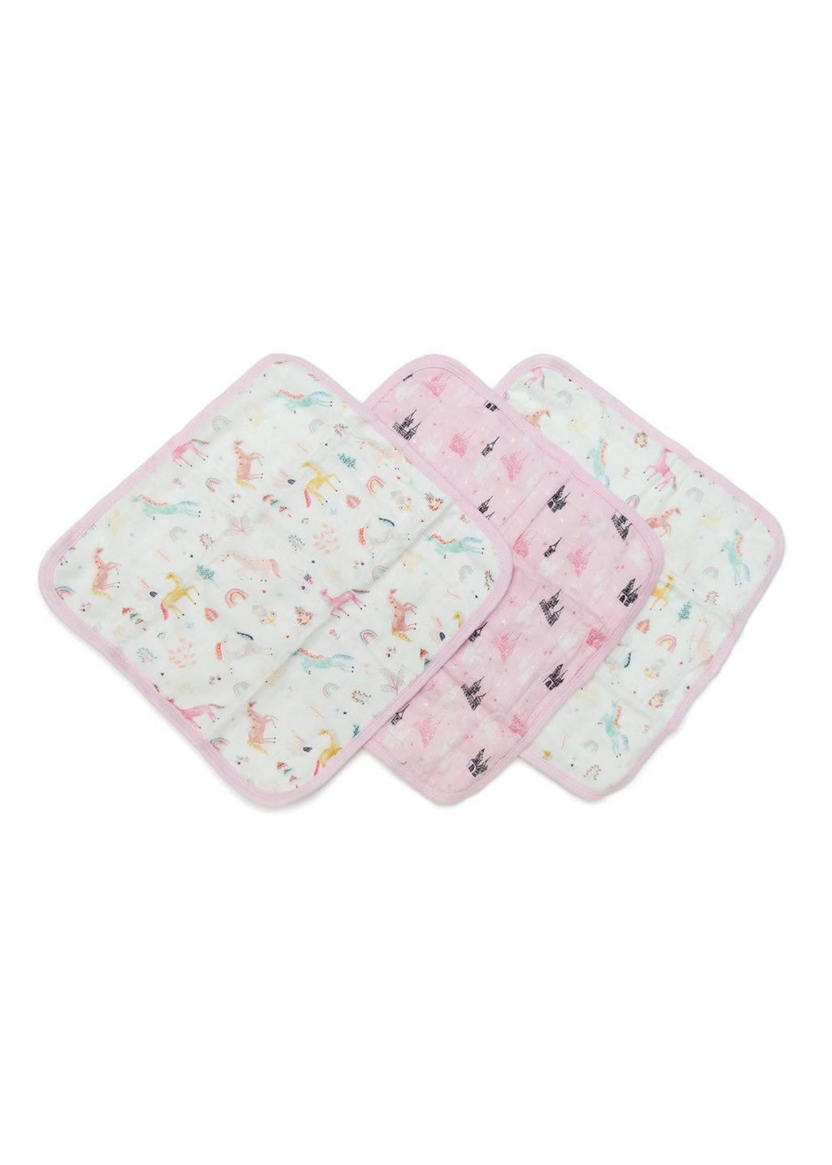 Loulou Lollipop Washcloth 3-piece Set