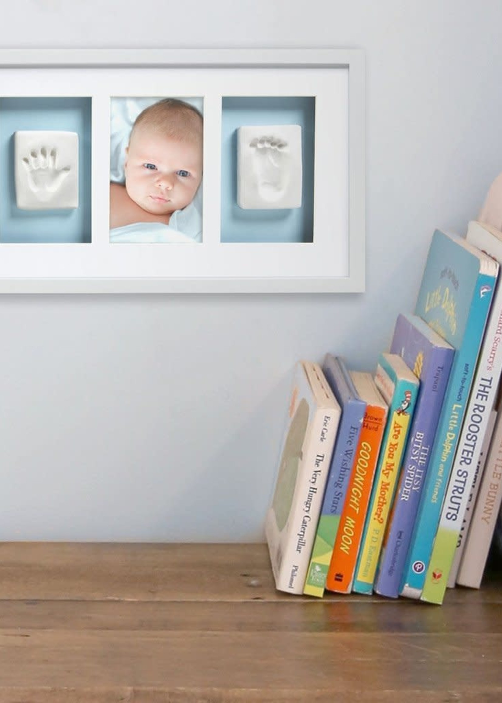 babyprints frame deluxe wall