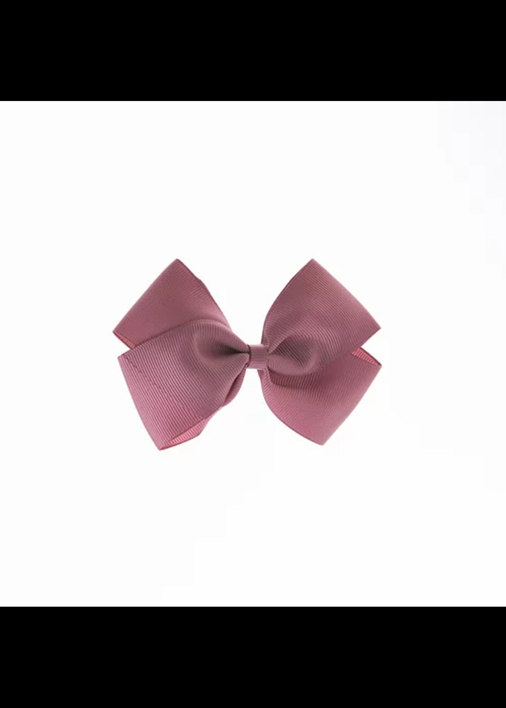 olilia Olilia Medium London Bow (Rosy Mauve)