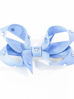 olilia Olilia Small Crystal Bow (Bluebird)