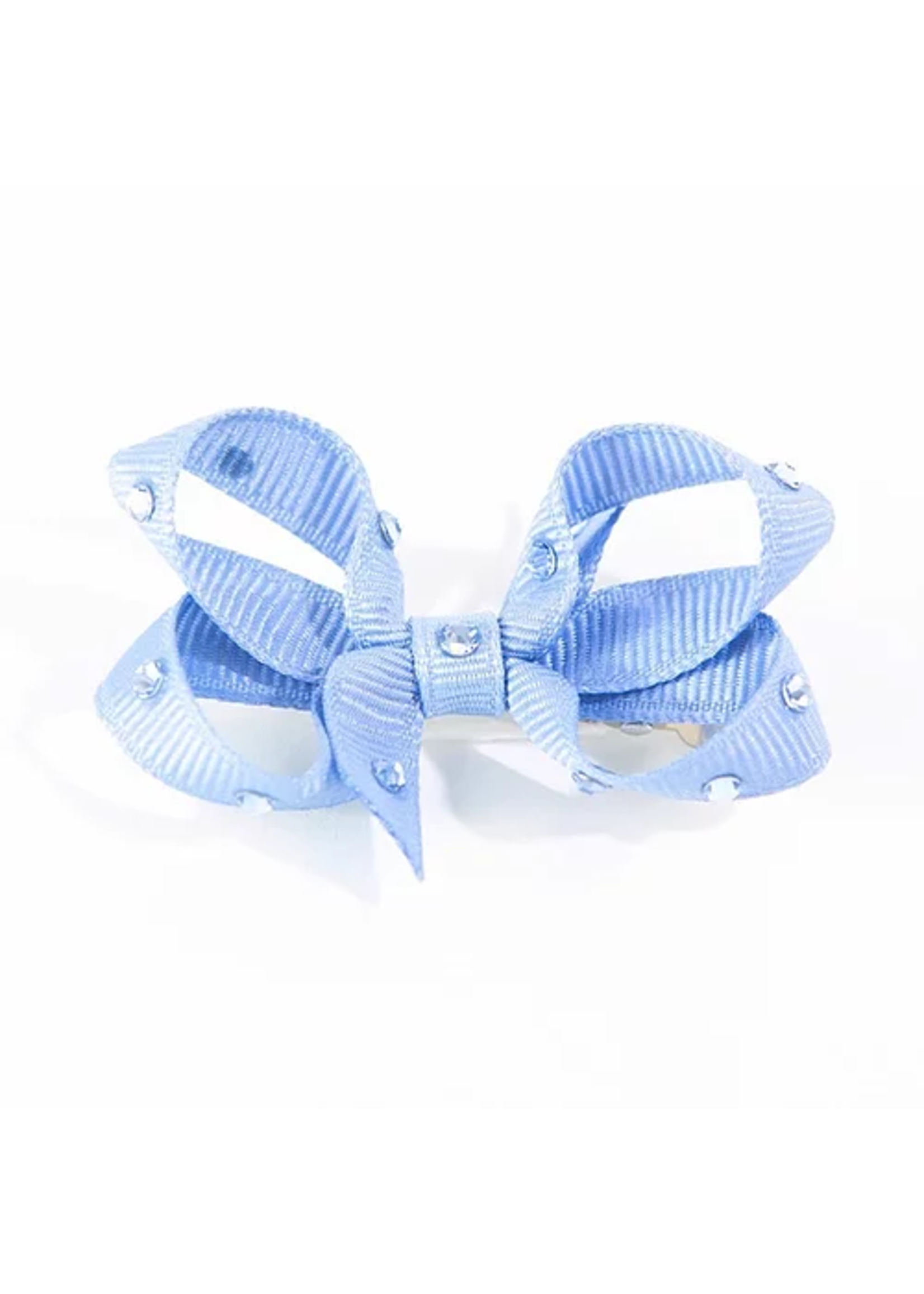 Olilia Small Crystal Bow (Bluebird)