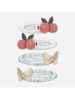 mimi&lula Mimi & Lula Cherry Butterfly Clic Clac Clips