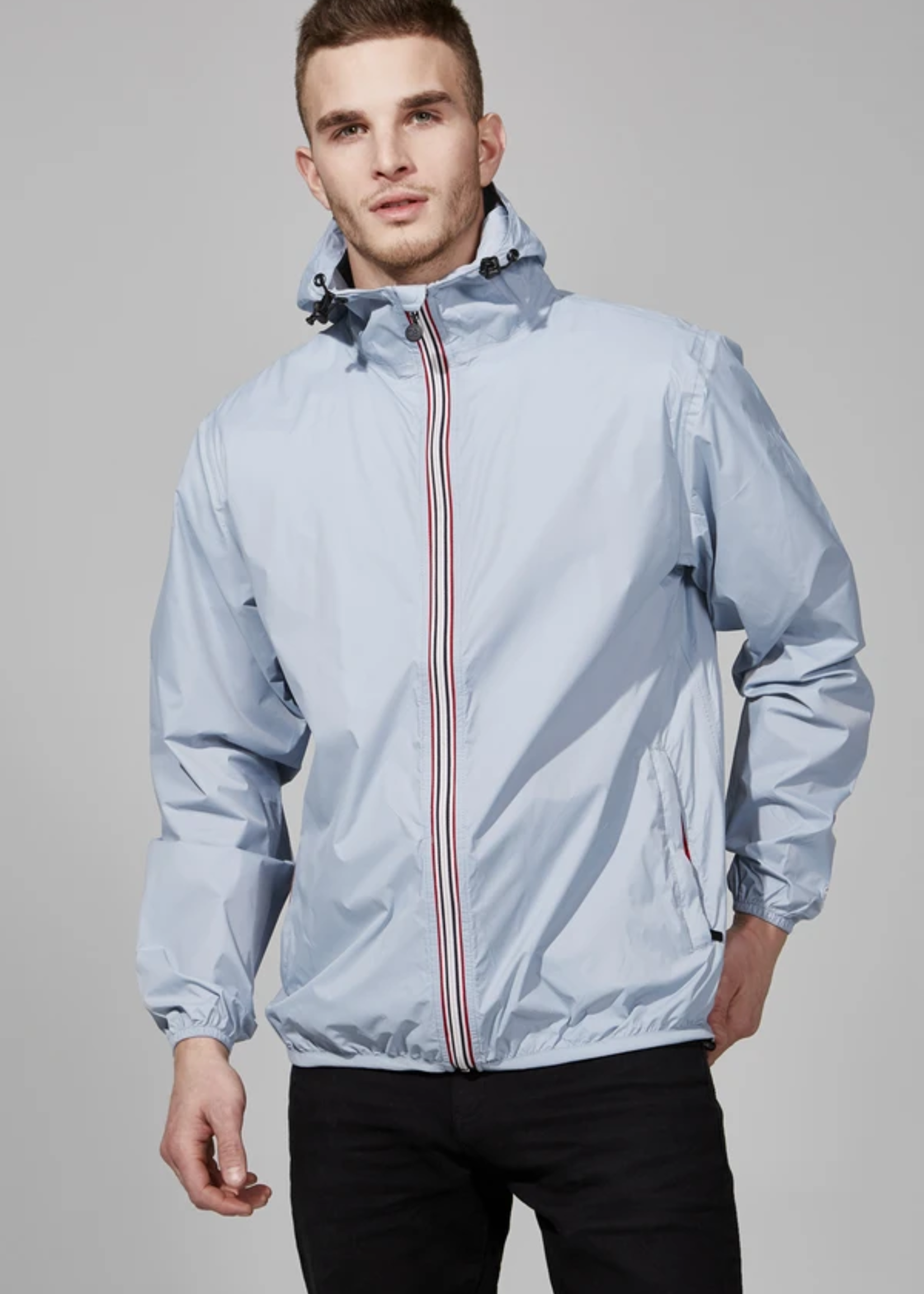 O8 O8 Men's Zip Jacket (Celestial Blue)