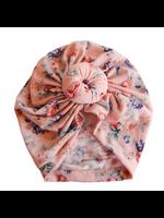 Baby Hood Baby Hood Floral Baby Turban Hat (Assorted)