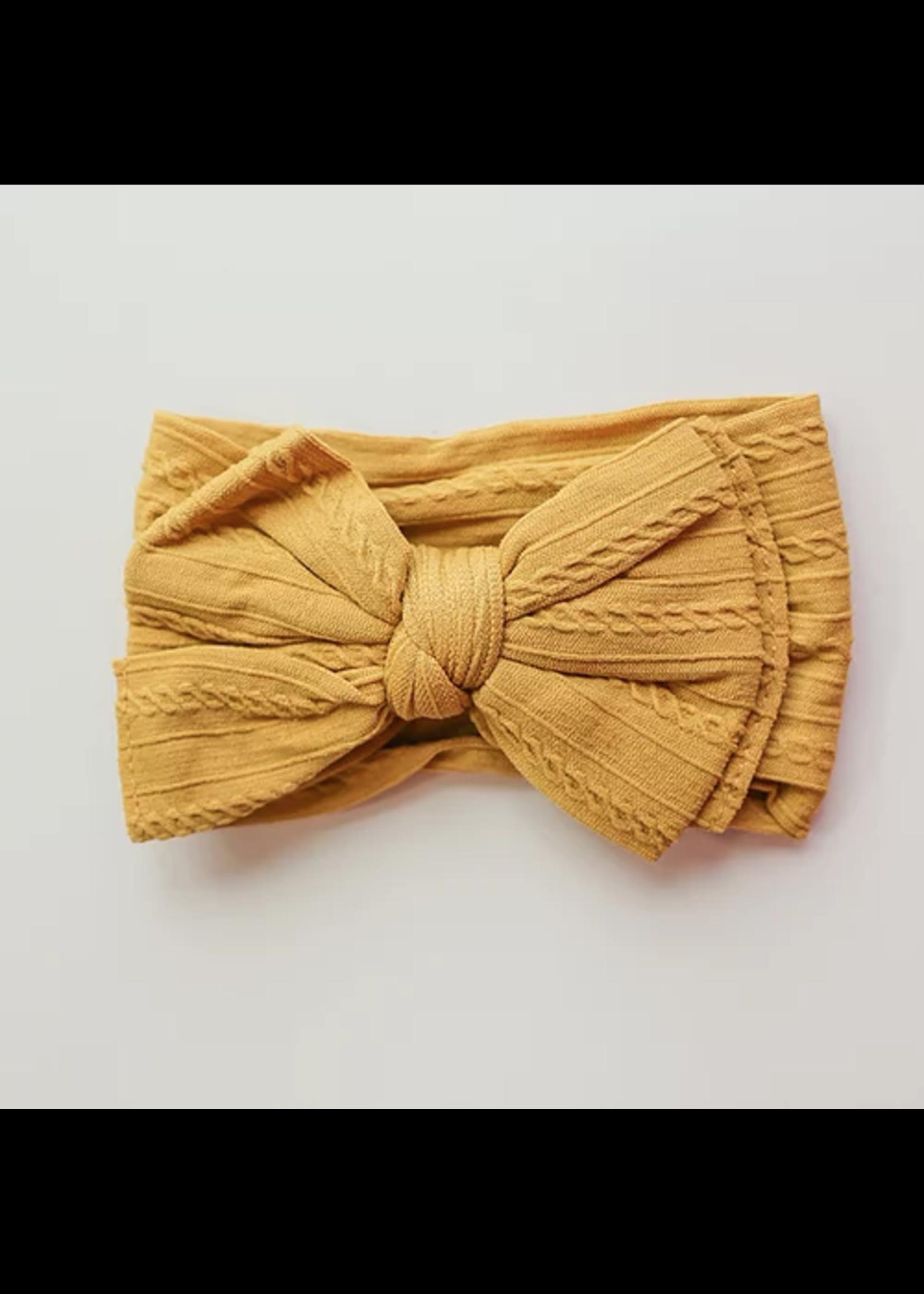 Baby Hood Baby Hood Cable Knit Headband