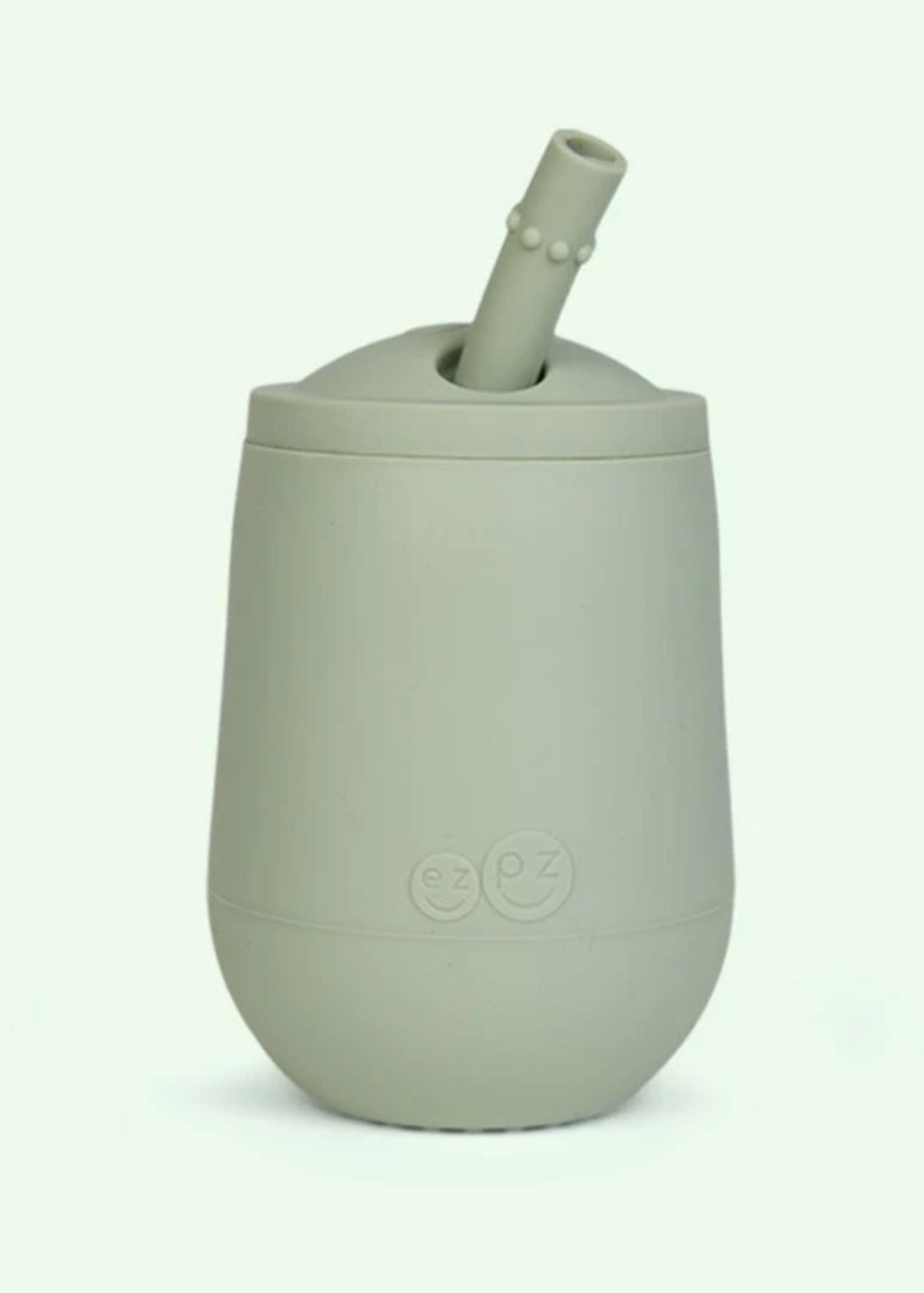 EZPZ ezpz Mini Cup + Straw Training System (Sage)