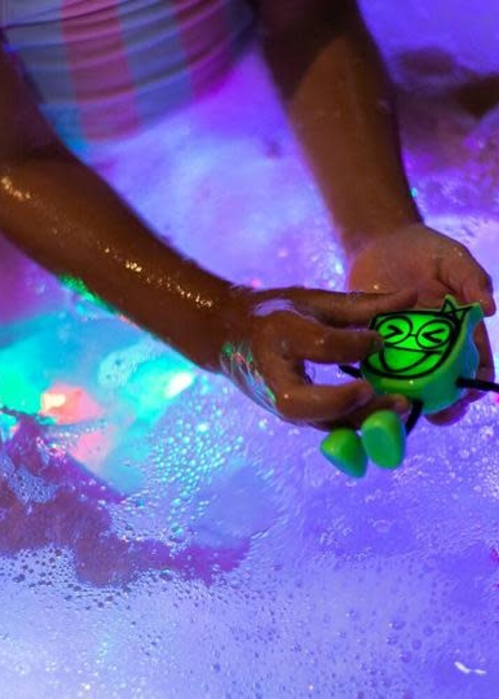Glo Pals Glo Pals Light Up Bath Toy (Alex Yellow)