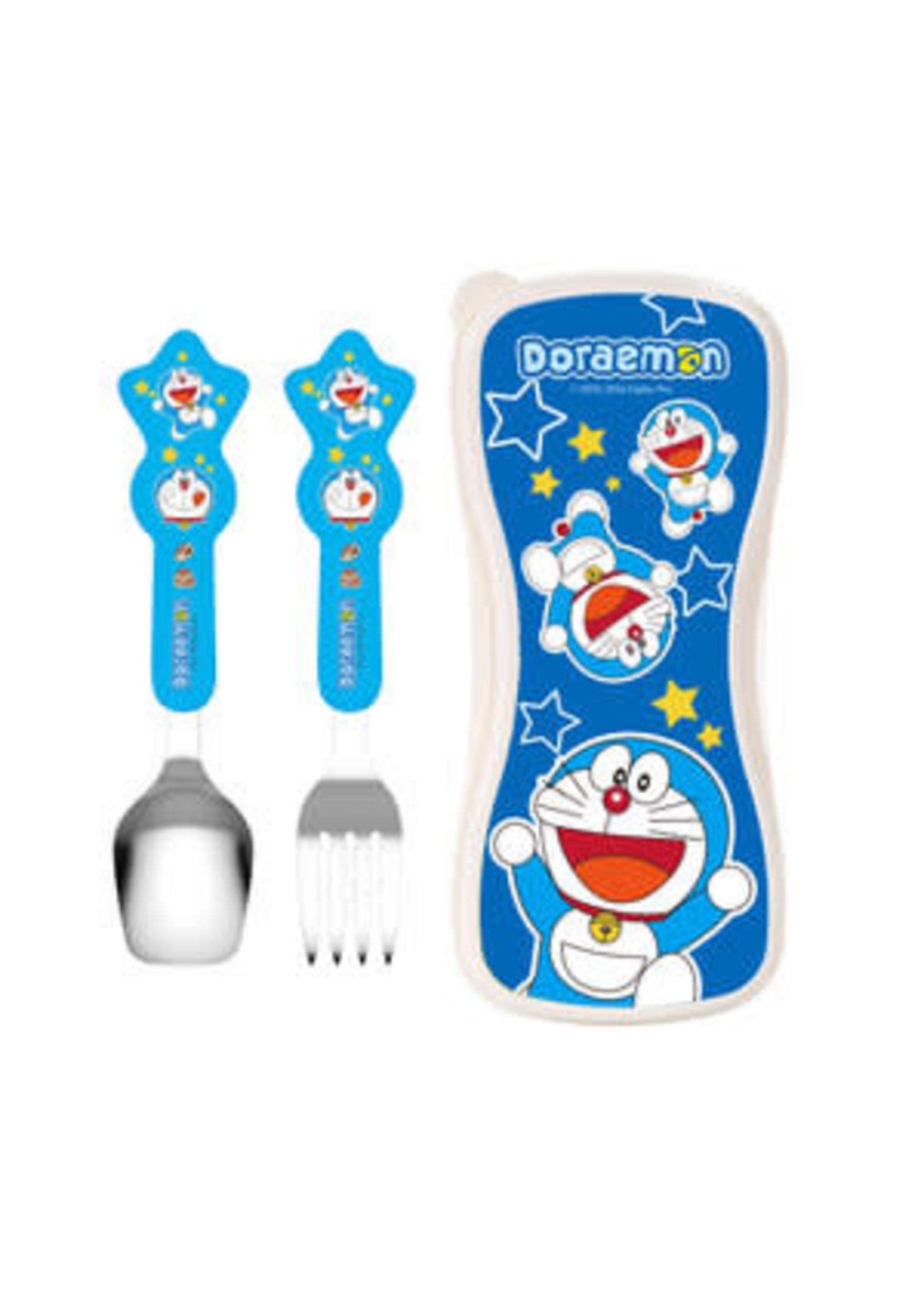 Edison Friends Edison Doraemon Spoon & Fork Set Case