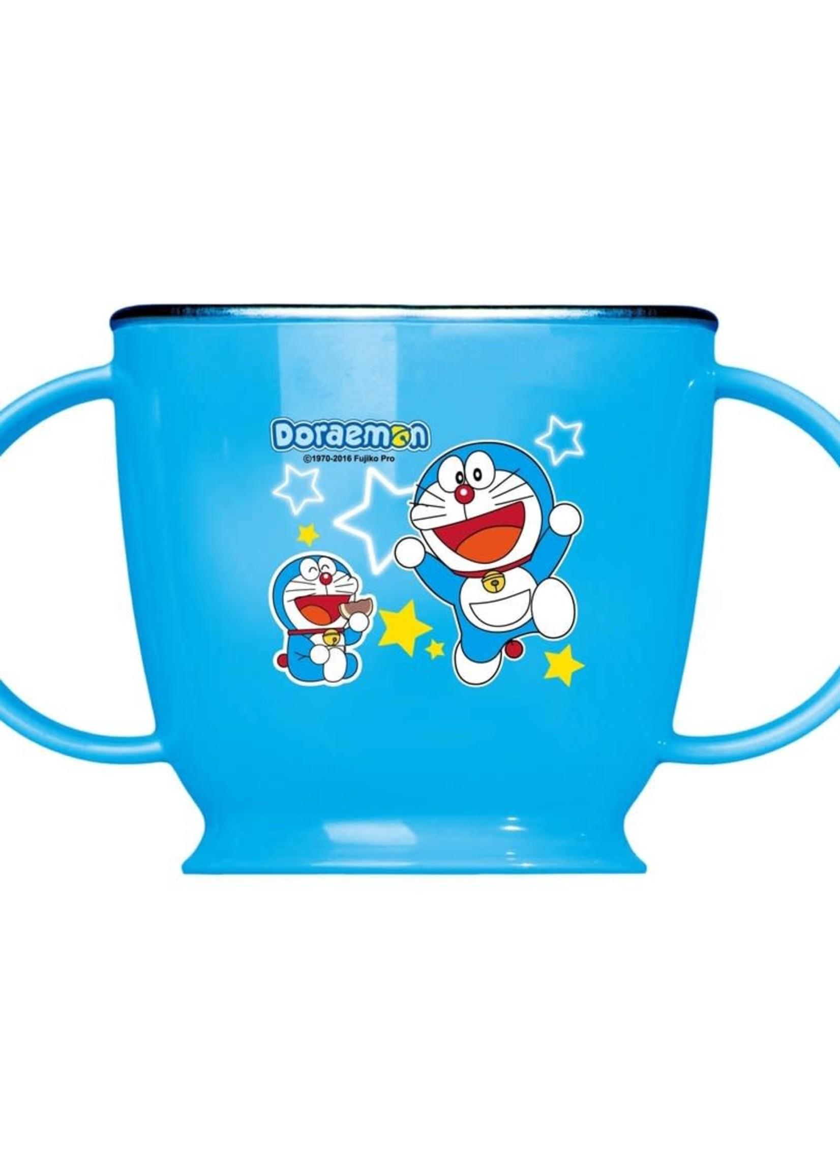 Edison Friends Edison Doraemon Non-Slip Stainless Double Handle Cup