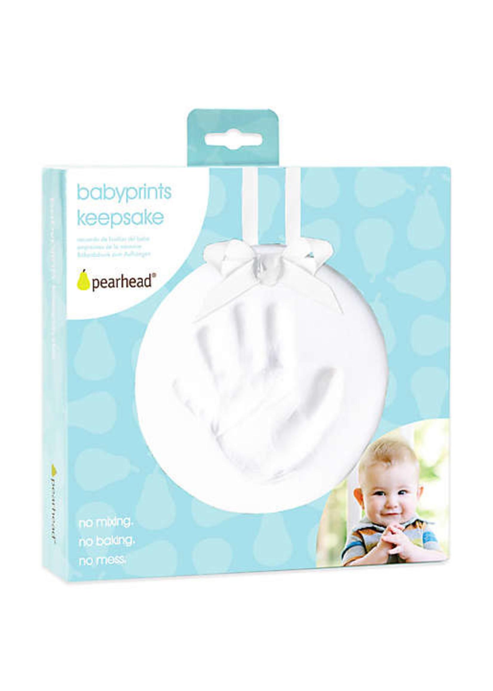 Pearhead Babyprints Keepsake Ornament (White)