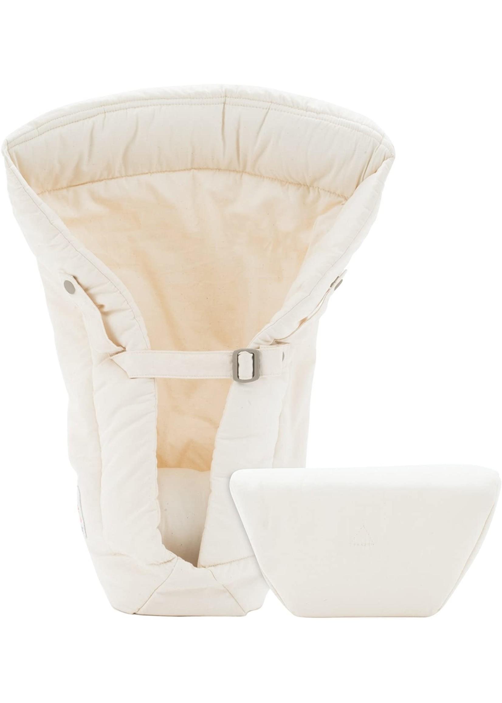 ergobaby Ergobaby Baby Carrier Organic Cotton Infant Insert (Natural)