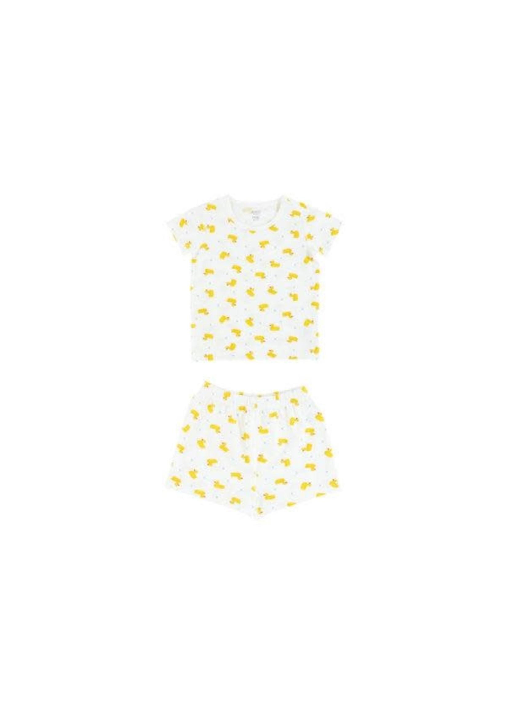 Nest Designs ND Short Sleeve PJ Set Duck