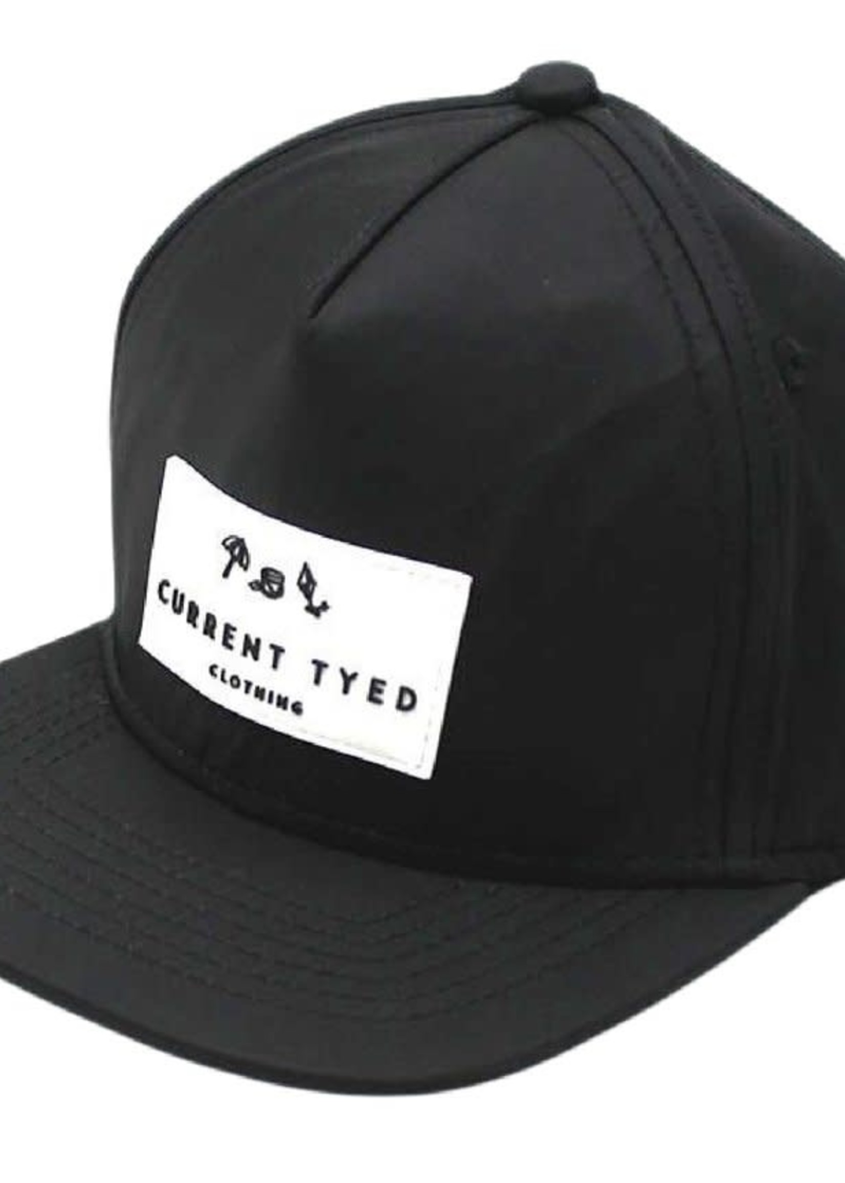 Current Tyed Current Tyed Waterproof Snapback (Black)