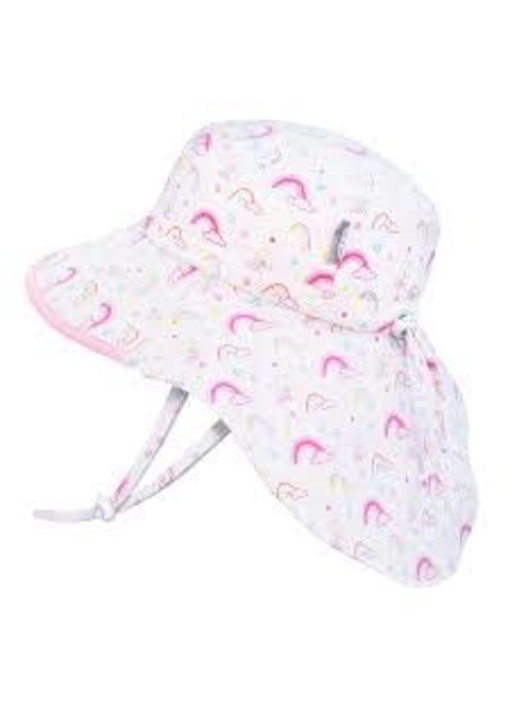 jan & jul Jan & Jul Hat (Rainbow Pink Brim)