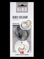 BIBS BIBS Pacifier 0-6 m (Iron/White)