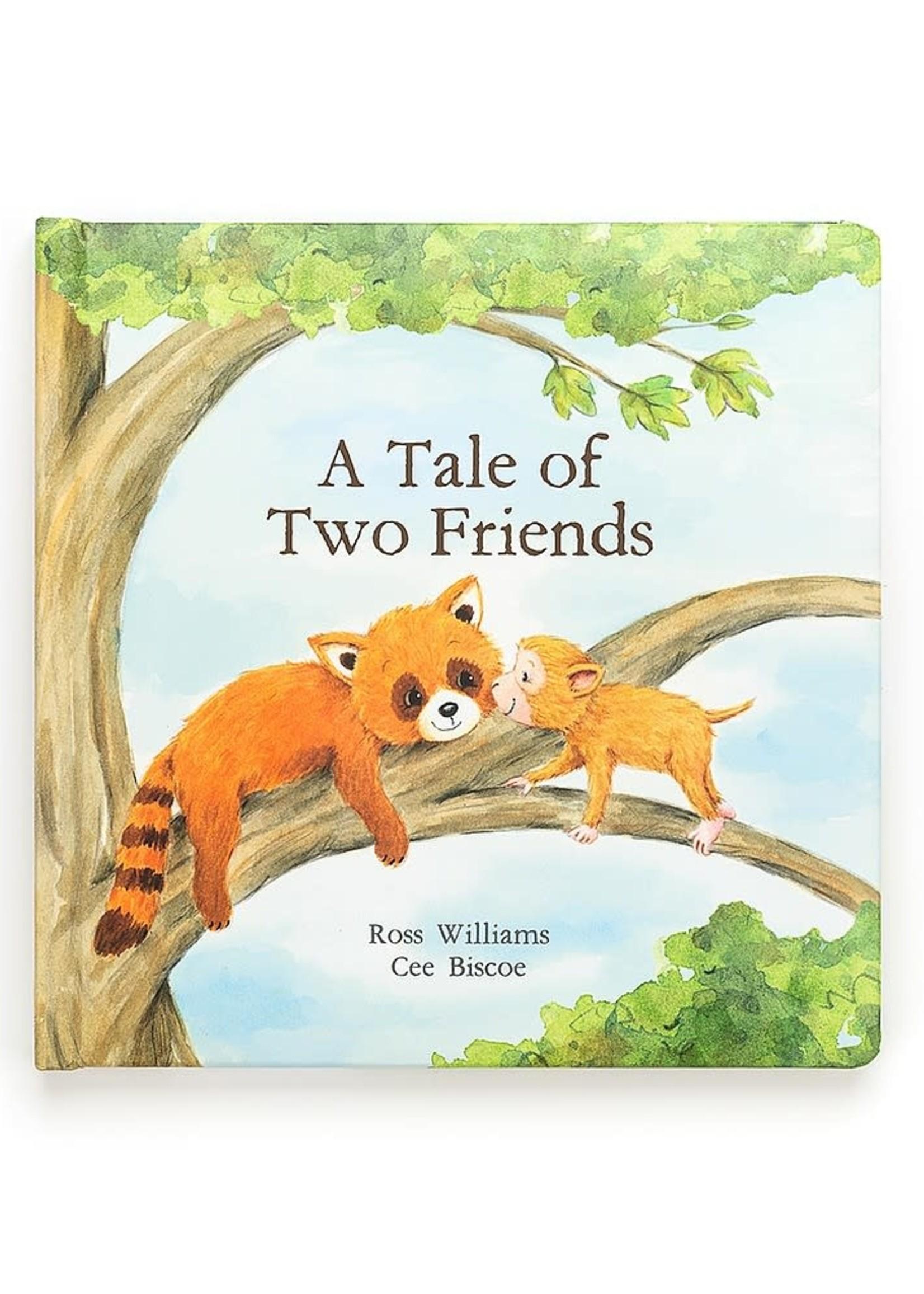 Jellycat Jellycat A Tale Of Two Friends Book