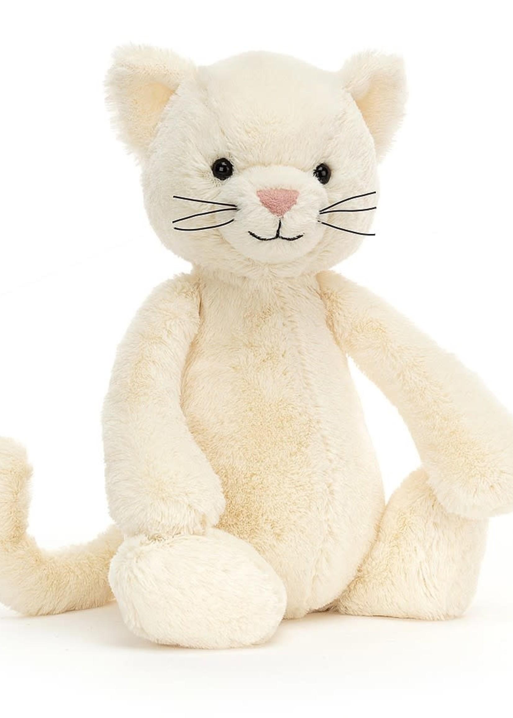 Jellycat JC Medium Bashful Kitten (Cream)