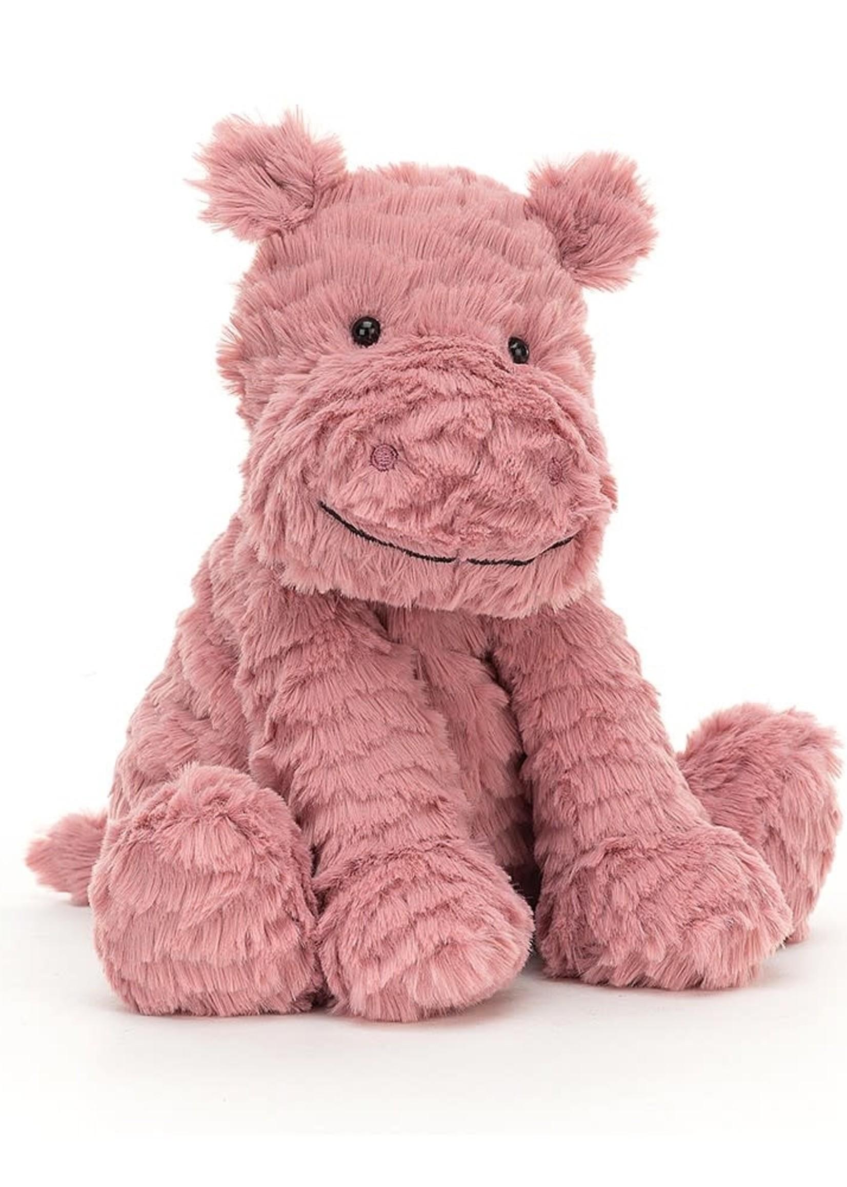 Jellycat JC Fuddlewuddle Hippo (Pink)