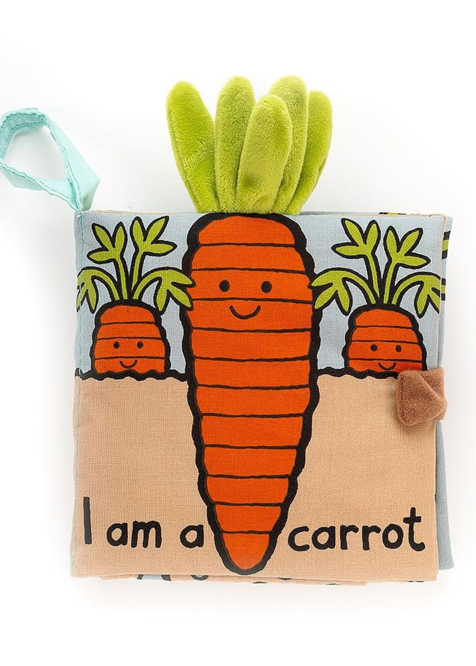 Jellycat JC I Am A Carrot Soft Book