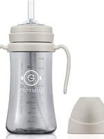 Grosmimi Grosmimi 300ml Straw Bottle (Cream Beige)