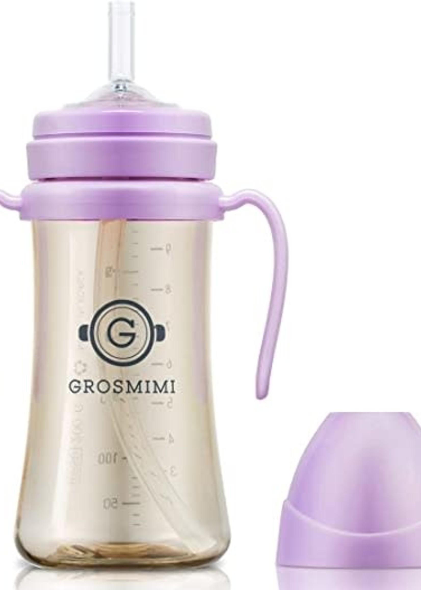 Grosmimi Grosmimi 300ml Straw Cup (Pure Lavender)
