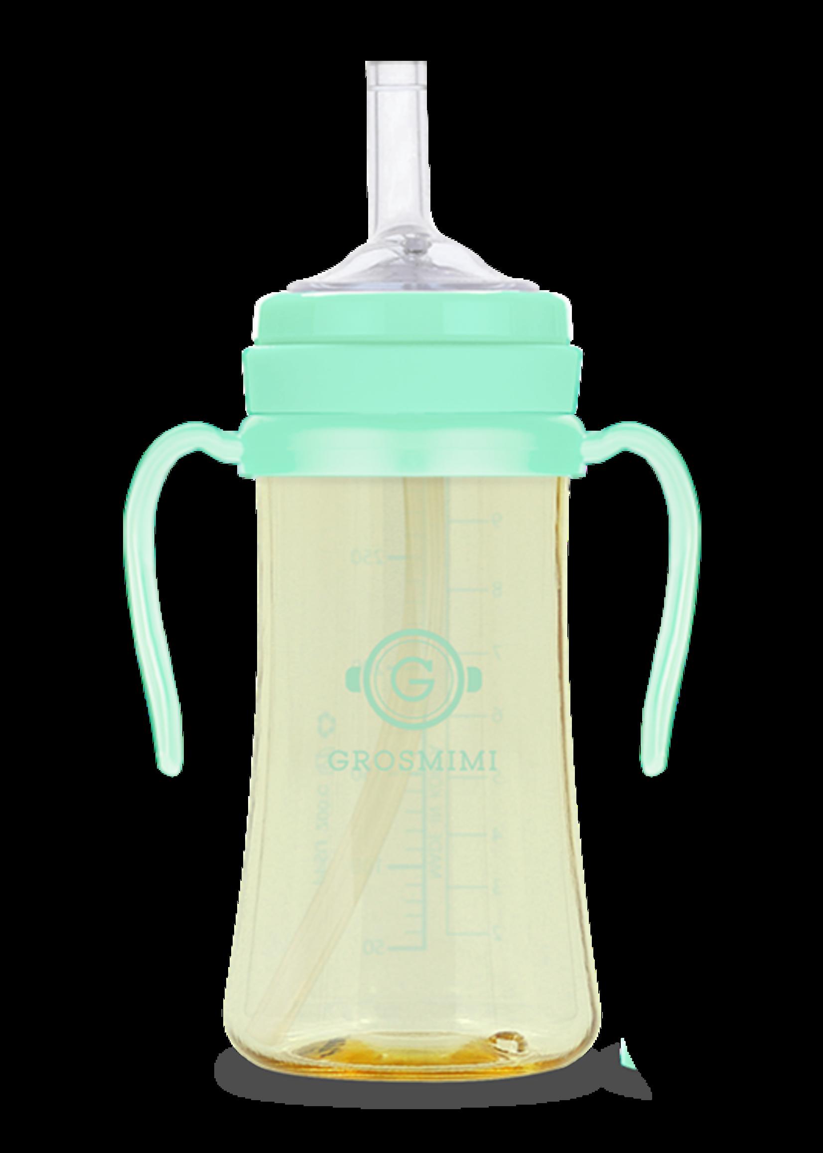 Grosmimi Grosmimi 300ml Straw Cup (Aqua Green)