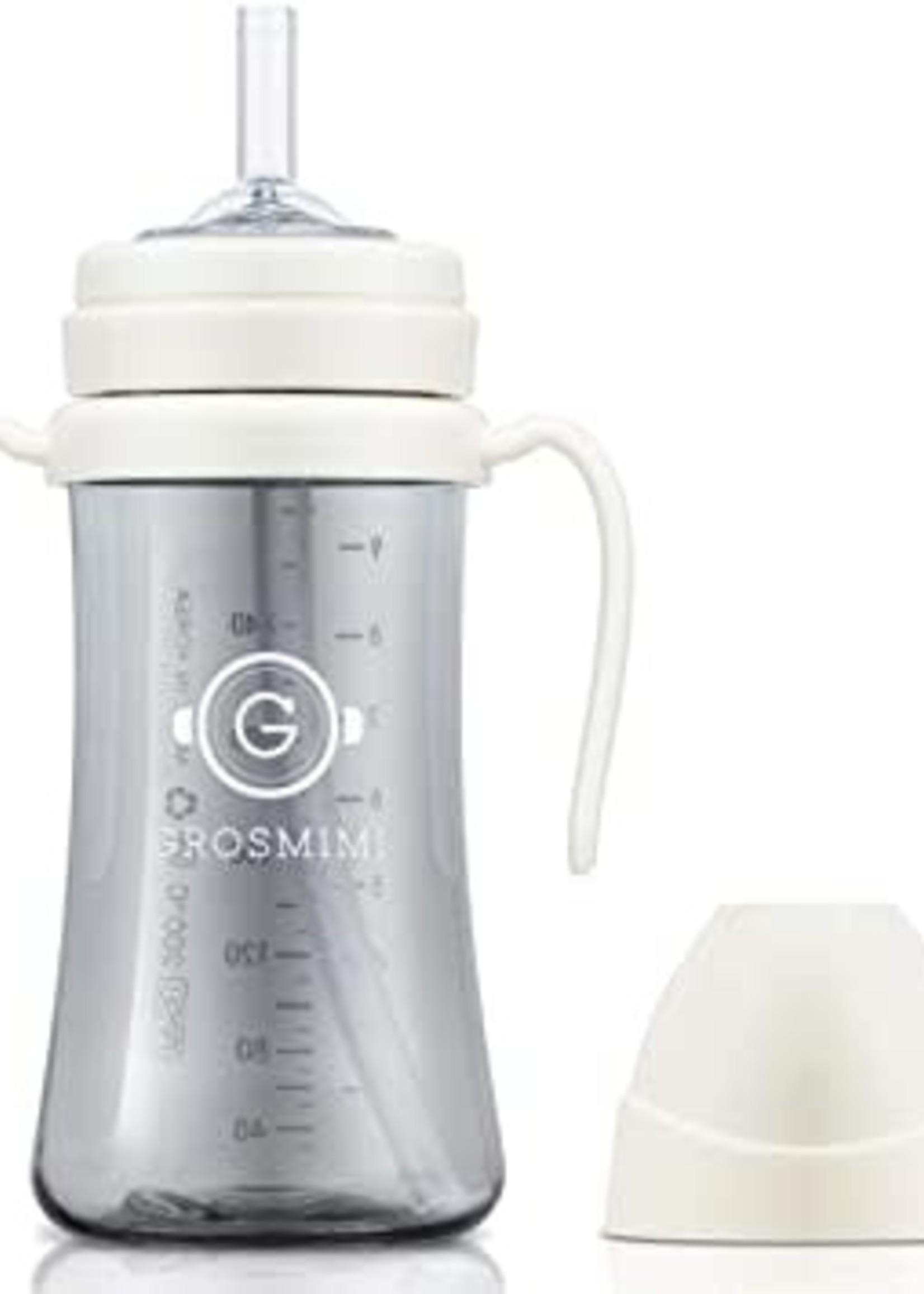 Grosmimi Grosmimi 300ml Straw Cup (White)