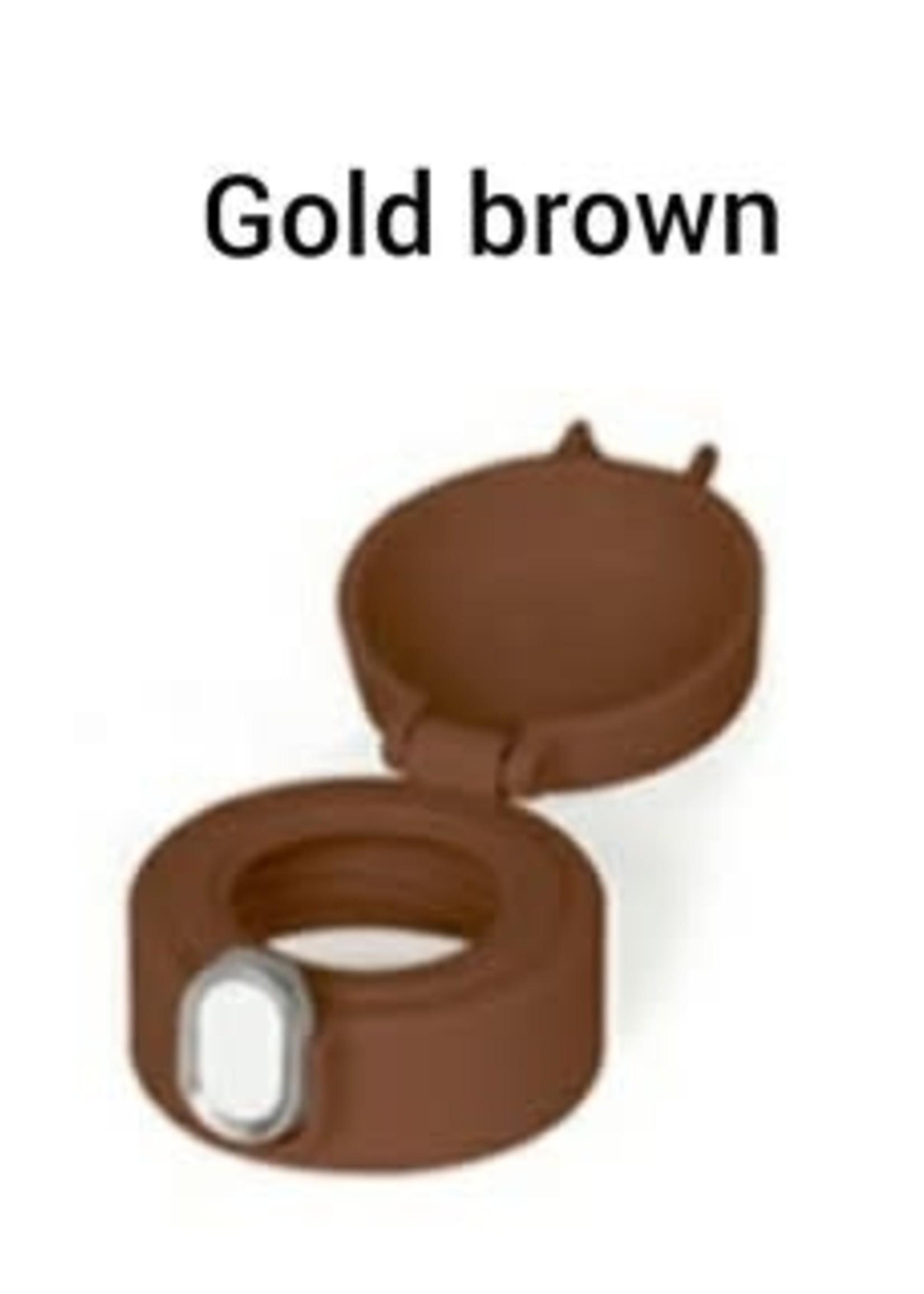 Grosmimi Grosmimi One Touch Cap V2 (Gold Brown)