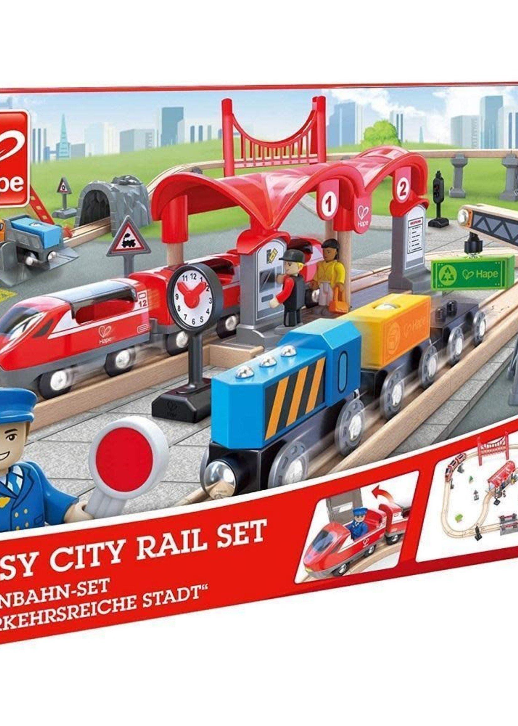 Hape Hape Busy City Rail Set