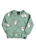 Whistle & Flute Whistle & Flute Sweater (All-Over Paper Crane)