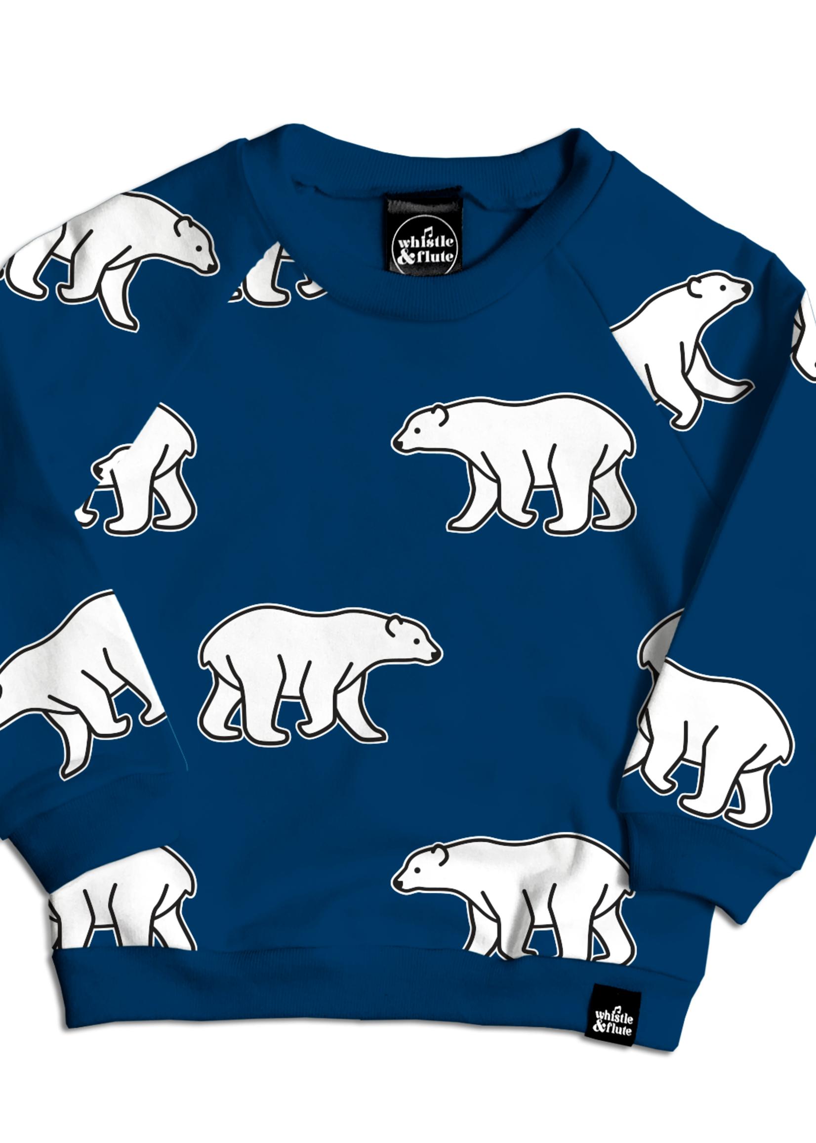 Whistle & Flute W&F Sweater (All-Over Polar Bear)