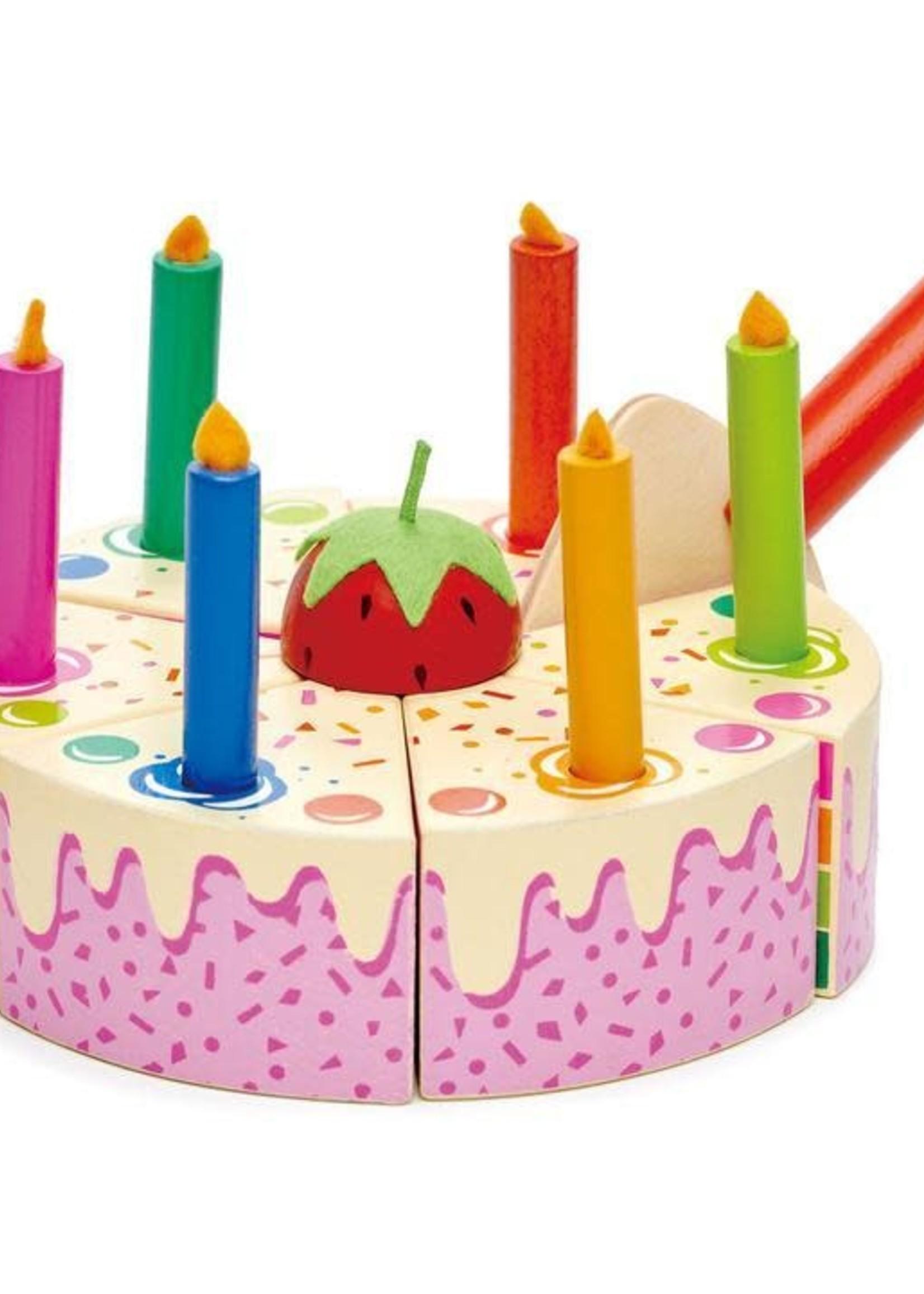 Tender Leaf Toy Tender Leaf Rainbow Birthday Cake