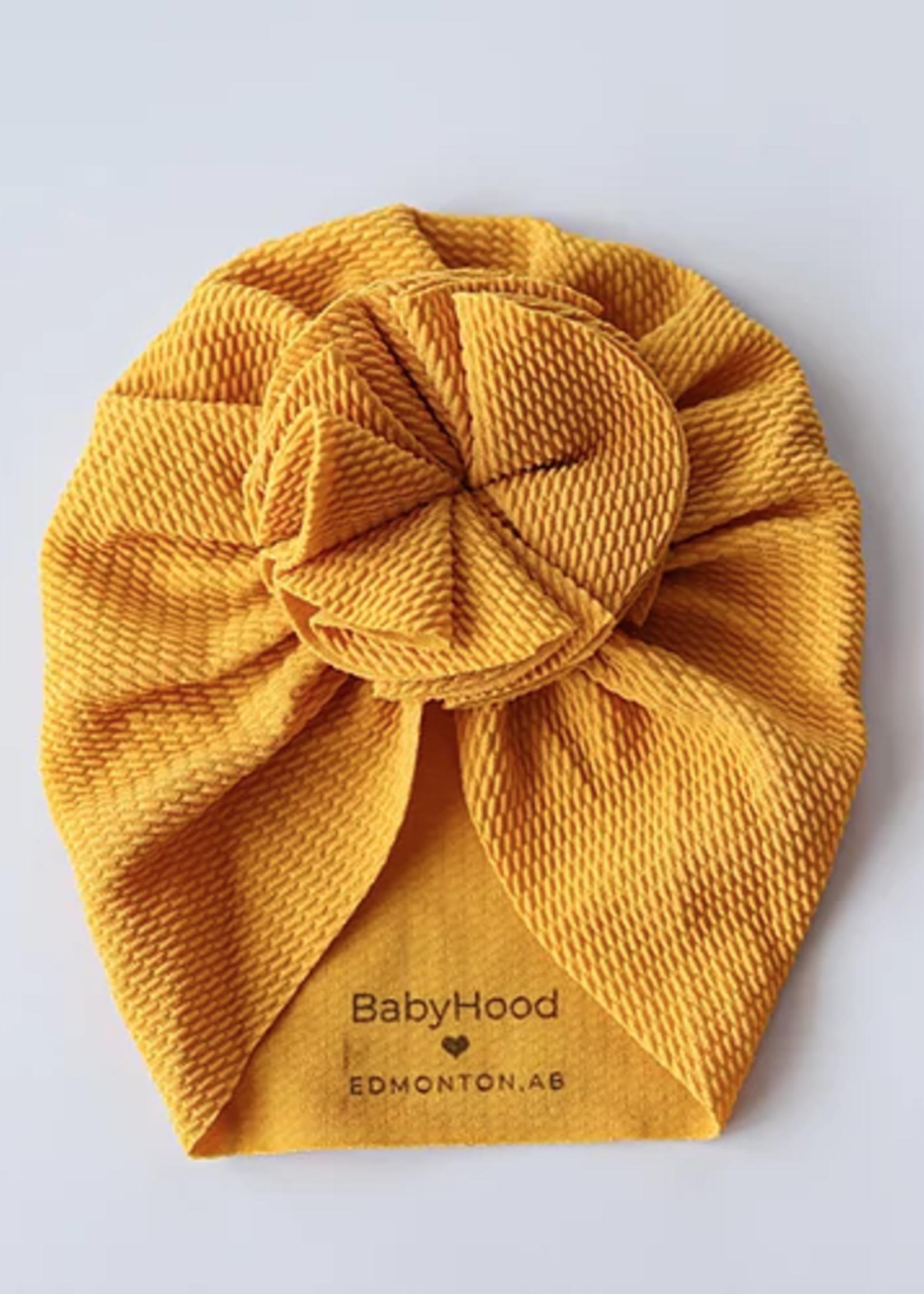 Baby Hood Blossom Turban Hat