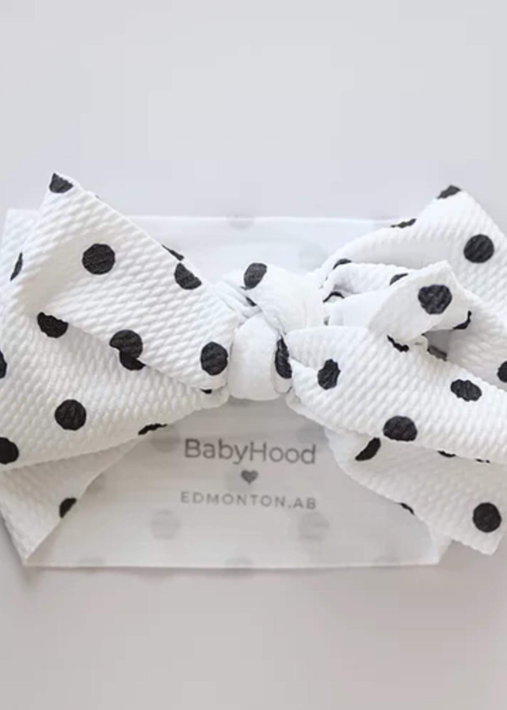 Baby Hood Baby Hood Big Bow Headband - Patterned