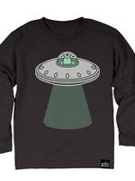 Whistle & Flute Whistle & Flute Long Sleeve Tee (Glow In The Dark Kawaii UFO)