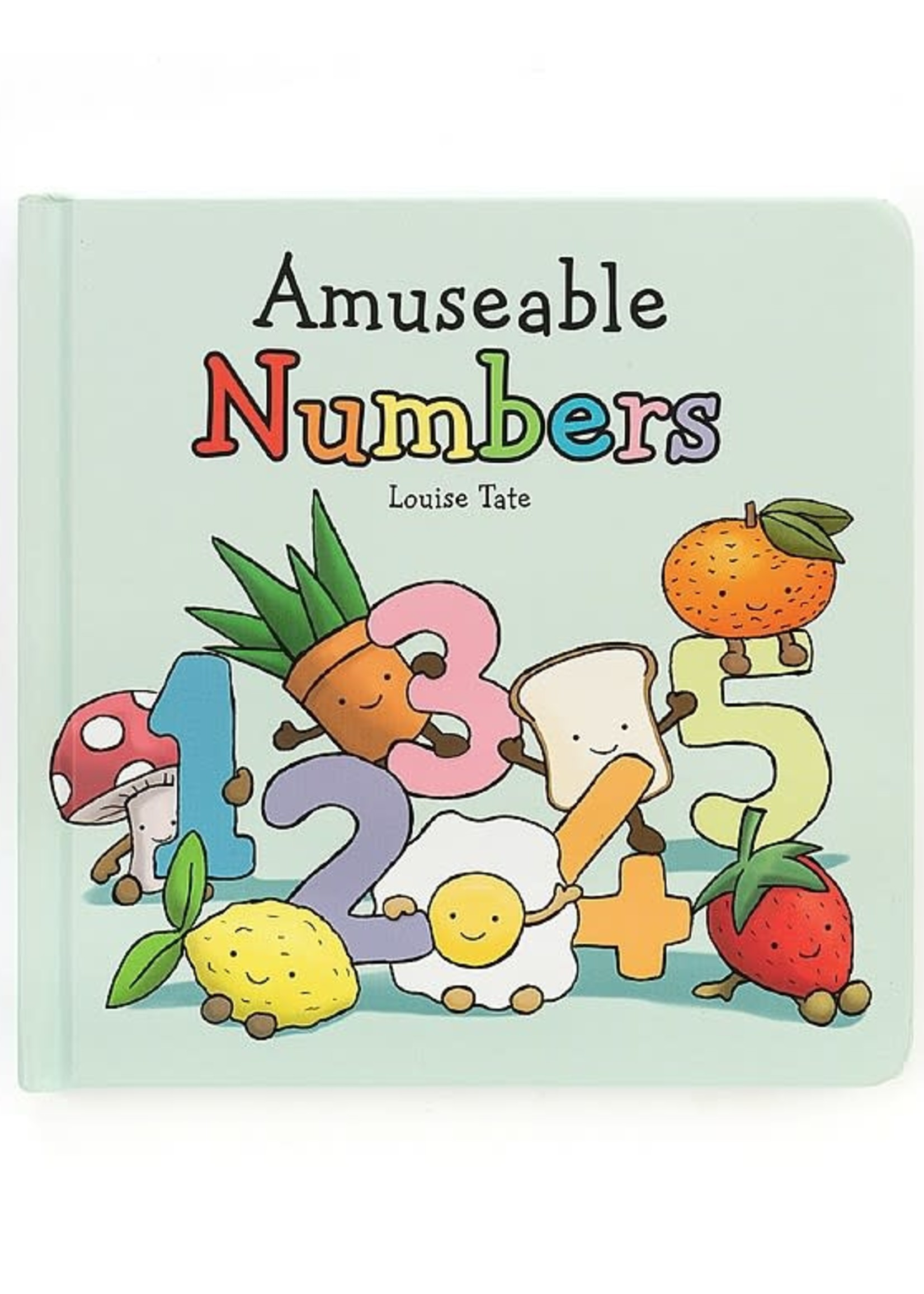 Jellycat JC Amuseable Numbers Book