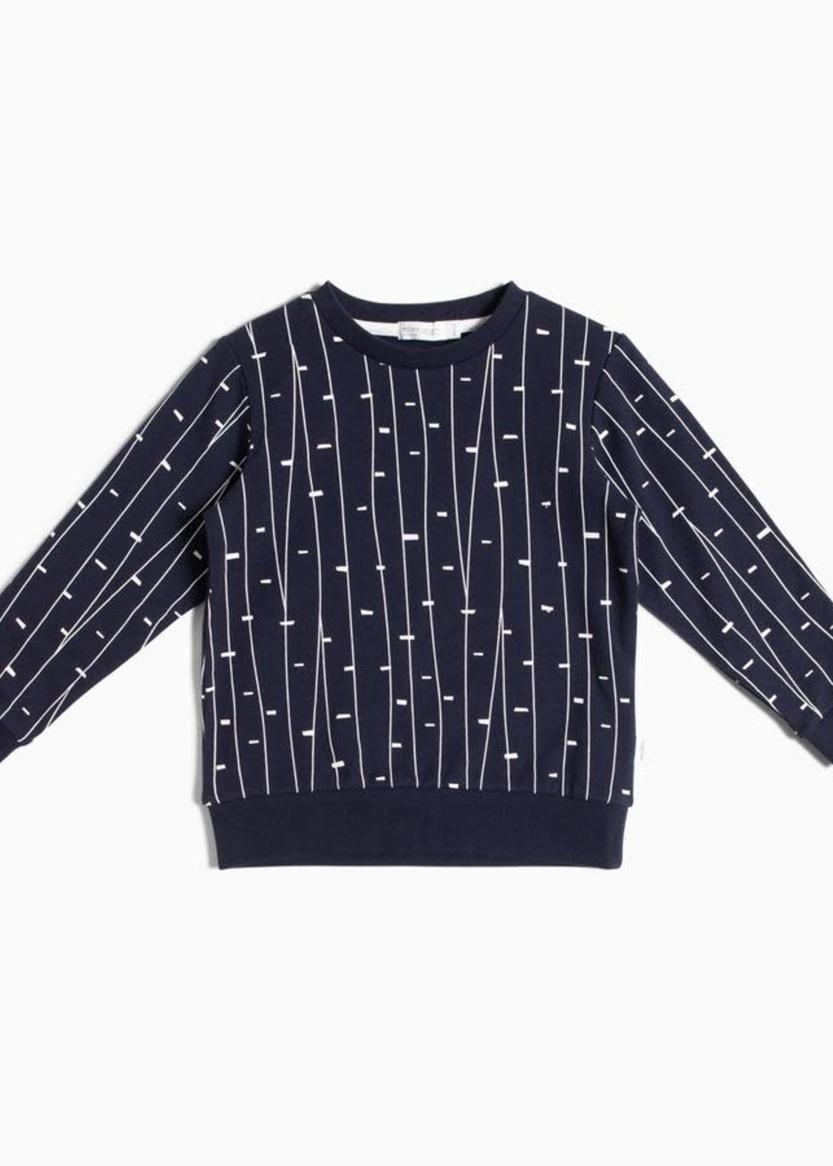 Miles Baby MB Navy Twiglet Sweater