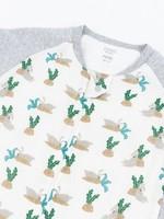 Nest Designs Nest Designs 2.5 Longsleeve Sleepsuit (Lazy Rabbits)