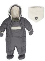 Deuxpardeux Deuxpardeux 1 pc Snowsuit - Grey Texture