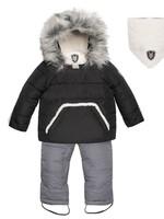 Deuxpardeux Deuxpardeux Baby 2 pc Snowsuit - Anthracite