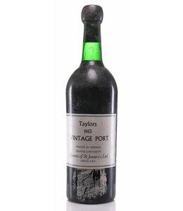 Taylor Fladgate & Yeatman Port 1963  Vintage Taylor Fladgate & Yeatman