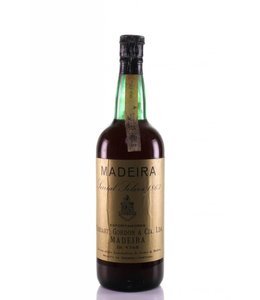 Cossart Gordon & Co Madeira 1863 Cossart Gordon & Co Sercial Solera